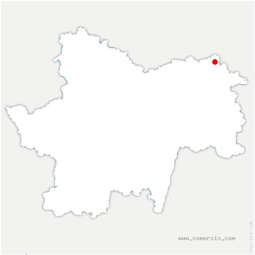 carte de localisation de Pourlans