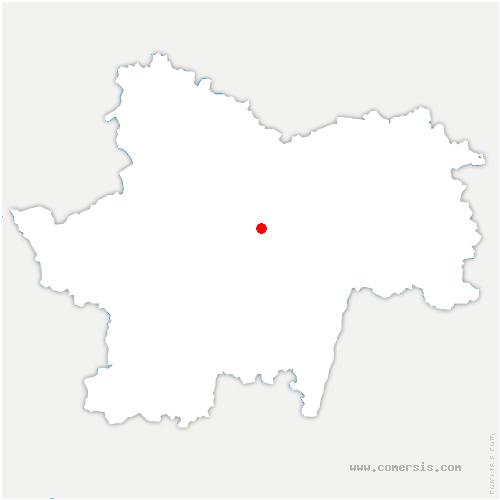 carte de localisation de Puley