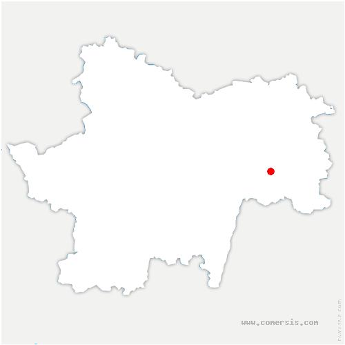 carte de localisation de Rancy