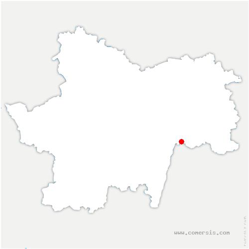carte de localisation de Ratenelle