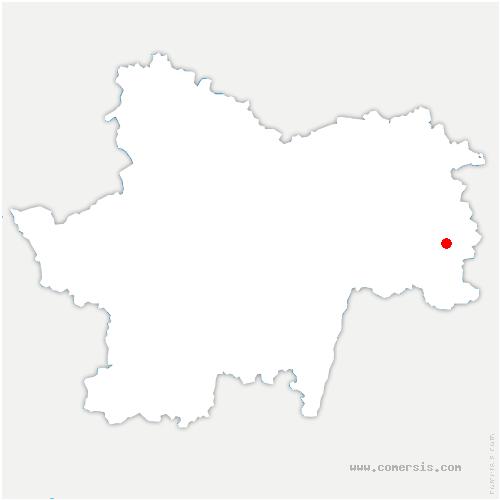 carte de localisation de Ratte