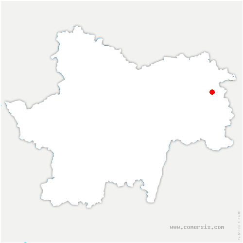 carte de localisation de Saint-Germain-du-Bois