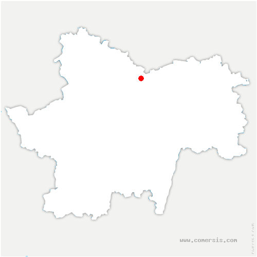 carte de localisation de Saint-Gilles