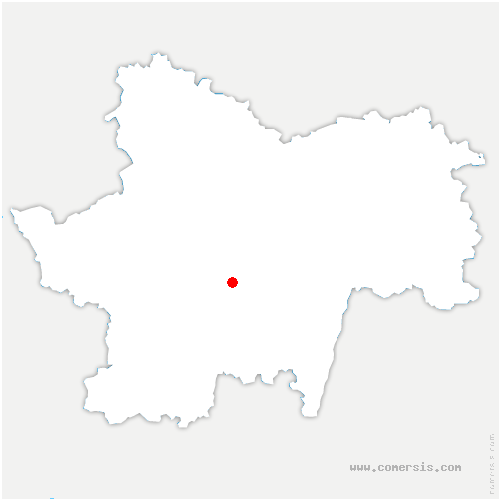 carte de localisation de Saint-Martin-de-Salencey