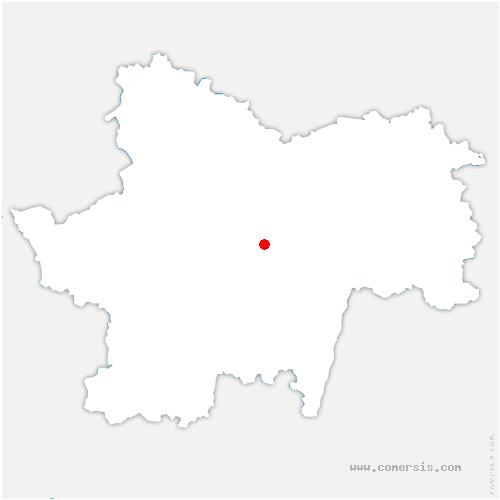 carte de localisation de Saint-Martin-du-Tartre