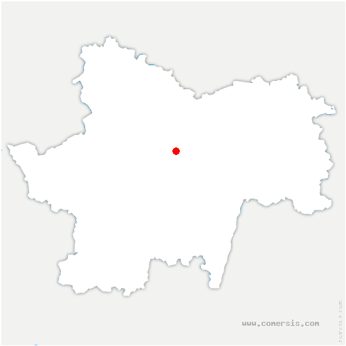 carte de localisation de Saint-Micaud
