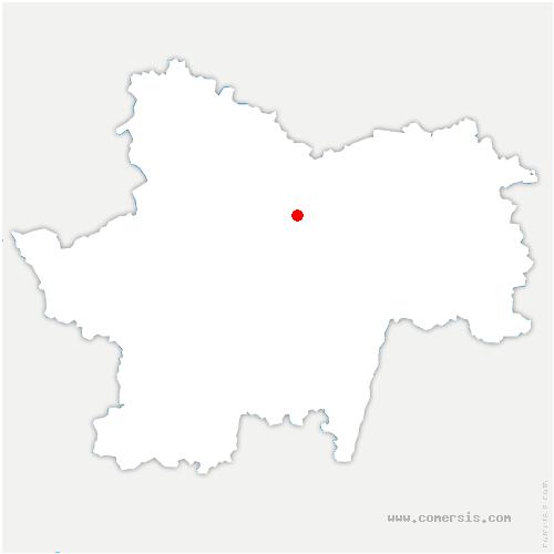 carte de localisation de Sainte-Hélène