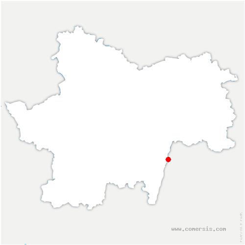 carte de localisation de Salle
