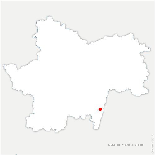 carte de localisation de Sancé
