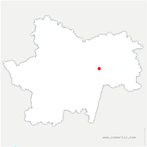 carte de localisation de Sennecey-le-Grand