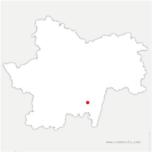 carte de localisation de Sologny