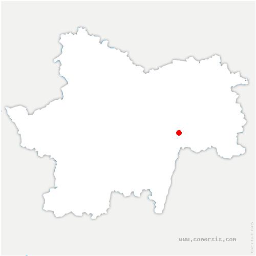 carte de localisation de Tournus