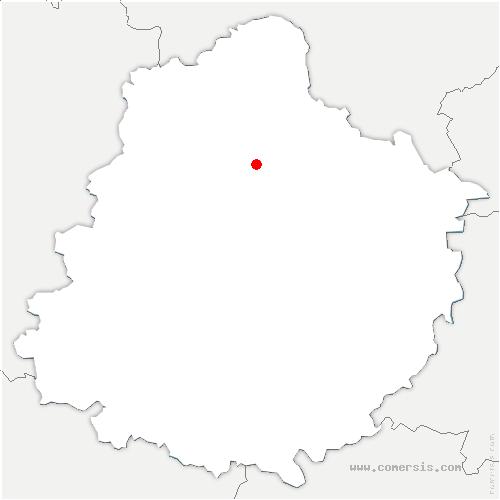 carte de localisation de Ballon-Saint-Mars
