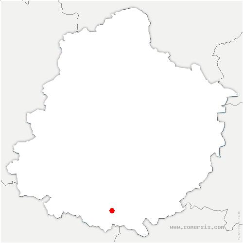 carte de localisation de Lude