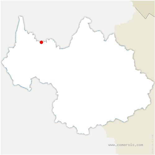 carte de localisation de Arith