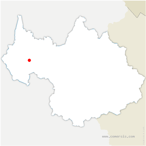 carte de localisation de Chambéry
