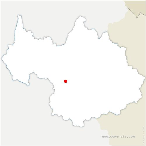 carte de localisation de Chapelle