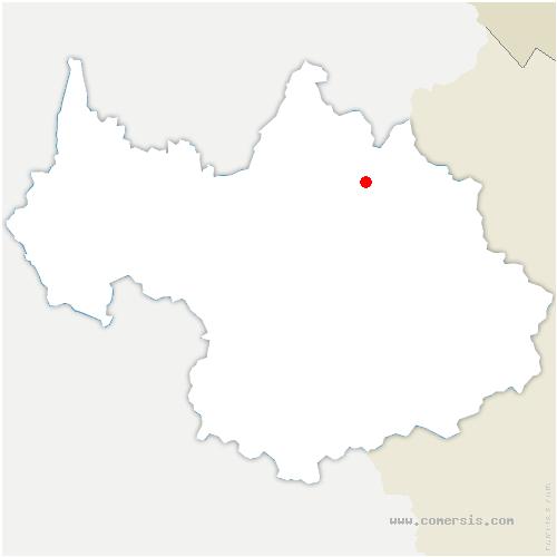 carte de localisation de Chapelles