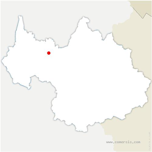 carte de localisation de Compôte