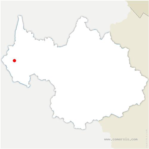 carte de localisation de Gerbaix