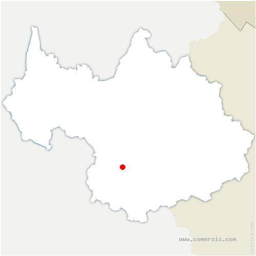 carte de localisation de La Tour-en-Maurienne