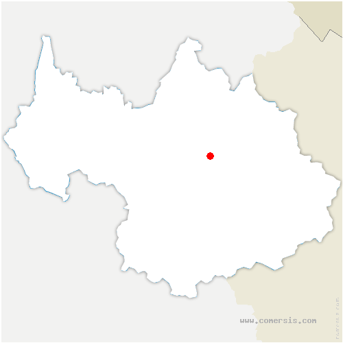 carte de localisation de Notre-Dame-du-Pré