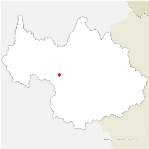 carte de localisation de Pontet