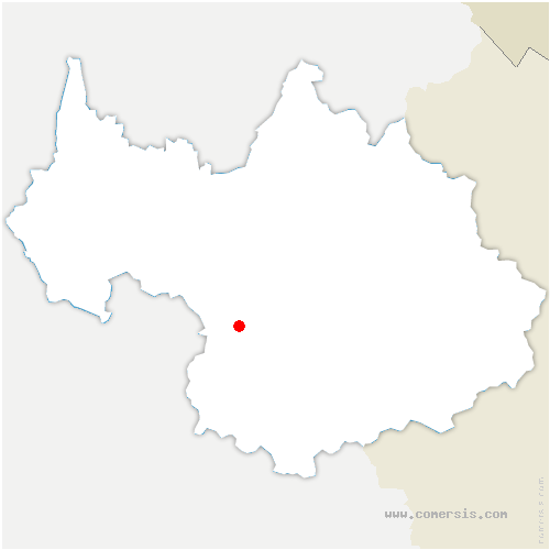 carte de localisation de Saint-Rémy-de-Maurienne