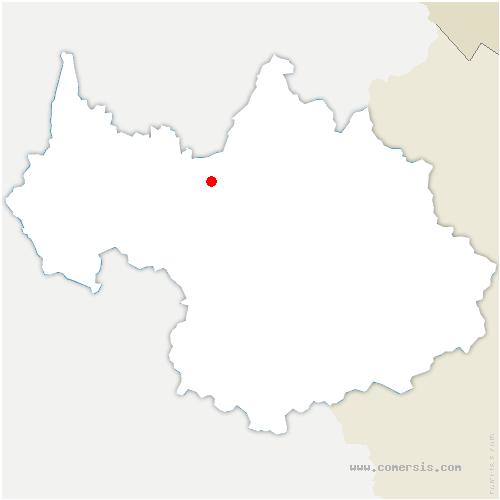 carte de localisation de Saint-Vital