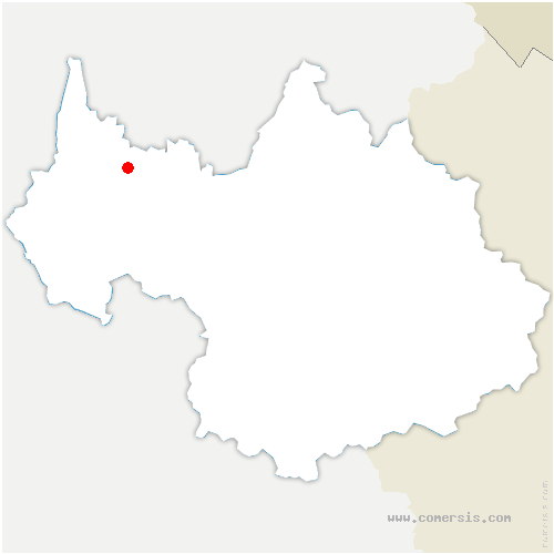 carte de localisation de Trévignin