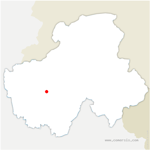 carte de localisation de Argonay