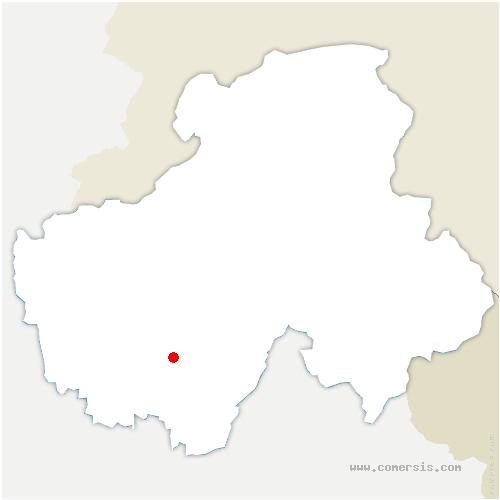 carte de localisation de Bluffy