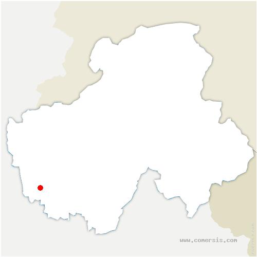 carte de localisation de Boussy