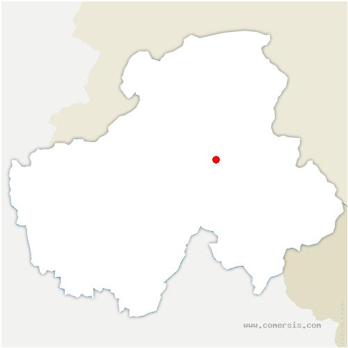 carte de localisation de Cluses