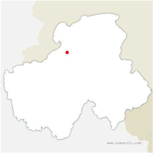carte de localisation de Fillinges