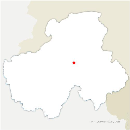 carte de localisation de Marnaz
