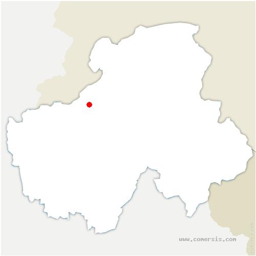 carte de localisation de Muraz