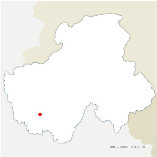 carte de localisation de Quintal