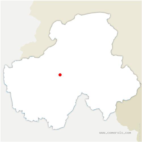 carte de localisation de Roche-sur-Foron