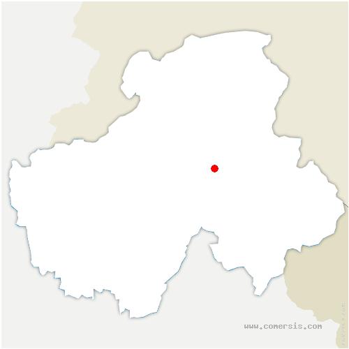 carte de localisation de Scionzier