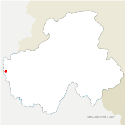 carte de localisation de Usinens
