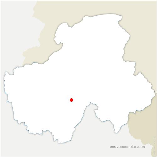carte de localisation de Villards-sur-Thônes