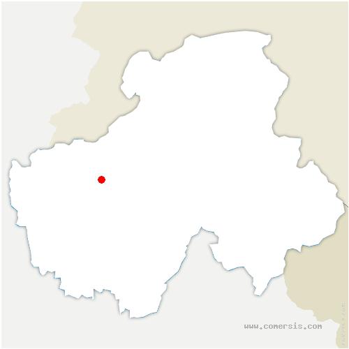 carte de localisation de Villy-le-Bouveret