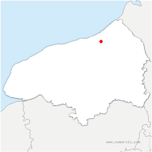 carte de localisation de Bellengreville