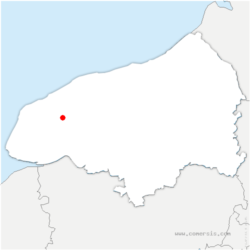 carte de localisation de Bénarville