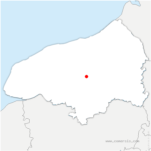 carte de localisation de Bocasse
