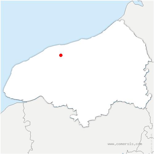 carte de localisation de Drosay