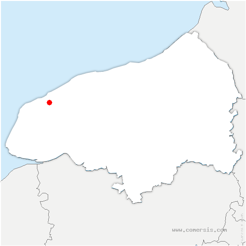 carte de localisation de Épreville