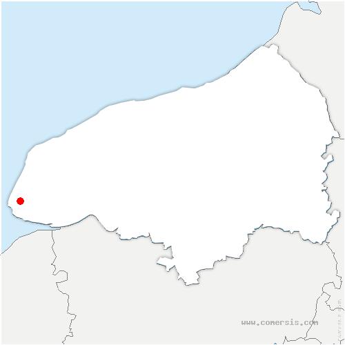 carte de localisation de Fontaine-la-Mallet