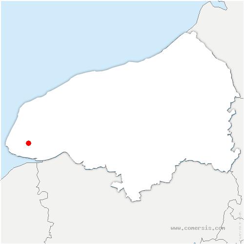 carte de localisation de Gainneville